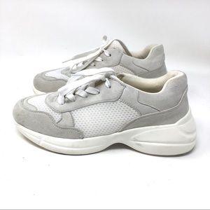 Madden Girl White Sneakers 7